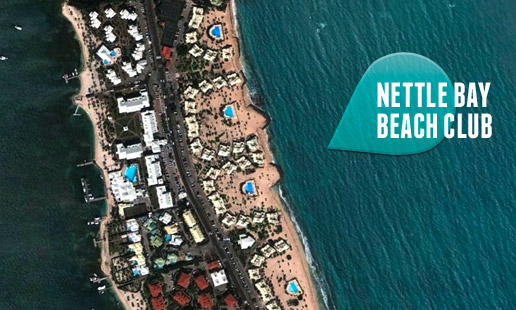 Géolocalisation de la résidence Nettlé Bay beach