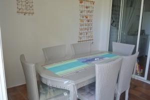 Table extérieure Loggia 2P Bay Beach
