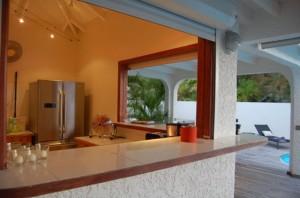 Bar / Cuisine Villa du Lagon