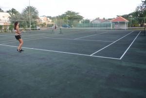 Terrain tennis 2P Sand Beach