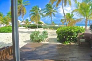Vue terrasse 2P Sand Beach