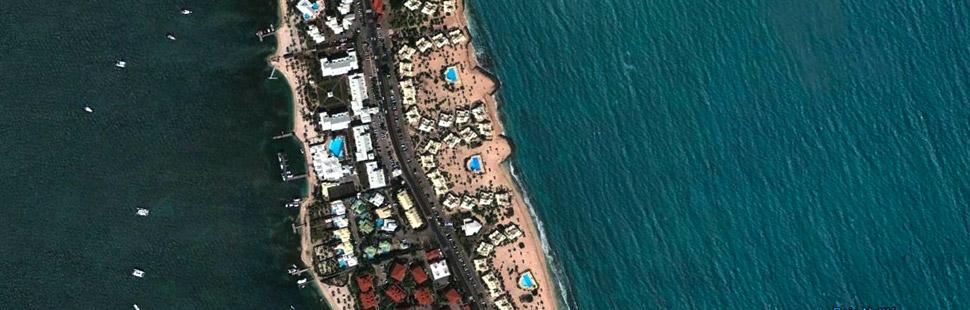 Vue aérienne de la résidence NBBC